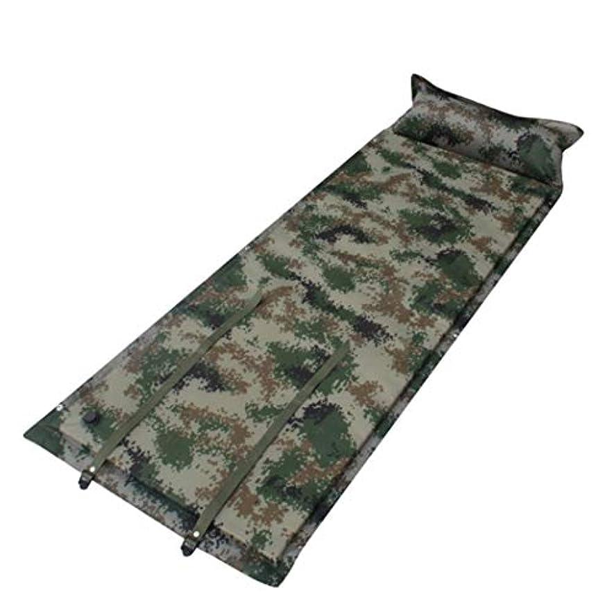 クックどこかエゴマニアキャンプのハイキングおよび野外活動のテントのための枕携帯用睡眠のパッド/マットレスが付いている自己の膨脹するキャンプのマットの睡眠のマット