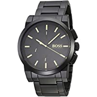 Hugo Boss Men's 1513276 Year-Round Analog Quartz Black Watch