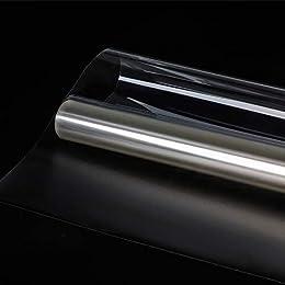 Mr.M 窓ガラスフィルム 透明 飛散防止 防災 ガラス飛散防止フィルム 紫外線対策 UVカットシート 幅90cm