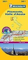 Michelin Piemonte, Valle d'Aosta (Michelin Maps)