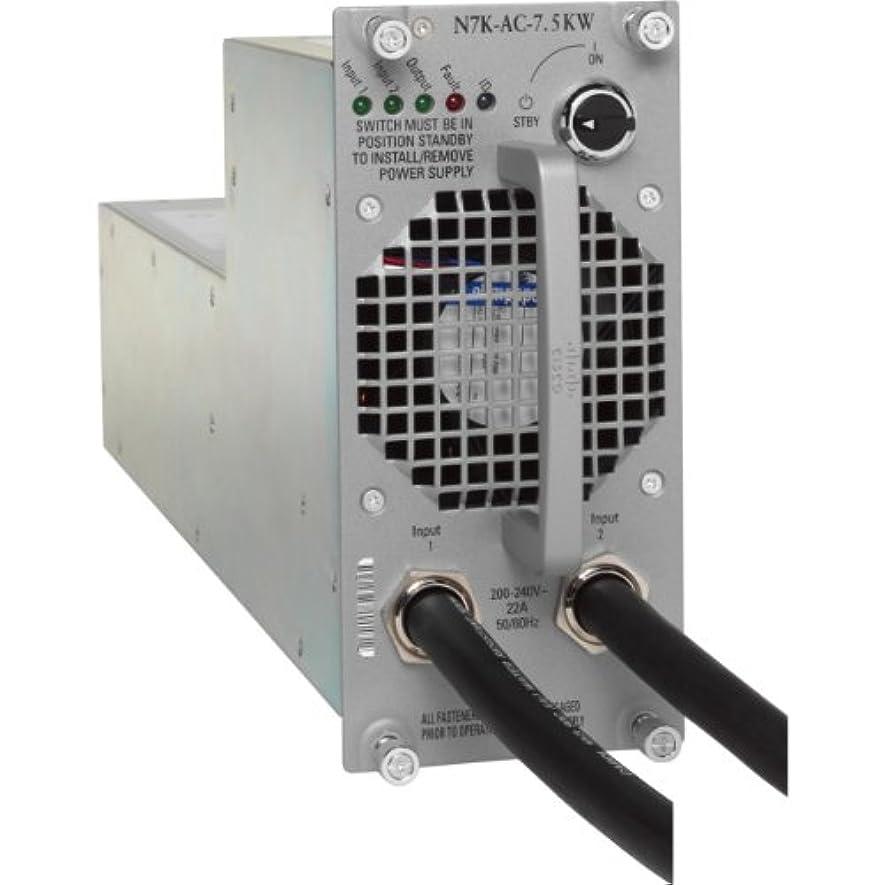郊外拳無礼にCisco N7K-AC-7.5KW-US= AC Power Supply Module - 7500W
