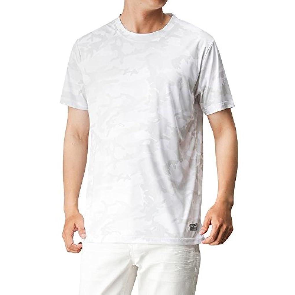 再現する地震ブレスSARARI(サラリ) UPF50+カモフラTシャツ 24423425 メンズ