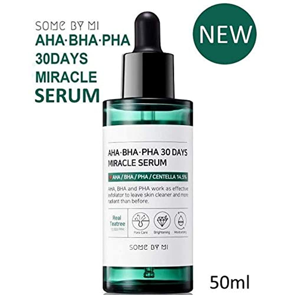 ピービッシュ大通りボーダー[Somebymi] AHA BHA PHA 30Days Miracle Serum 50ml/Korea Cosmetic