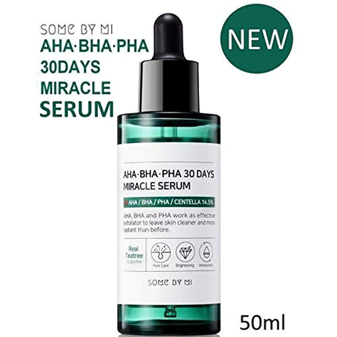 鈍い読み書きのできない夜[Somebymi] AHA BHA PHA 30Days Miracle Serum 50ml/Korea Cosmetic [並行輸入品]