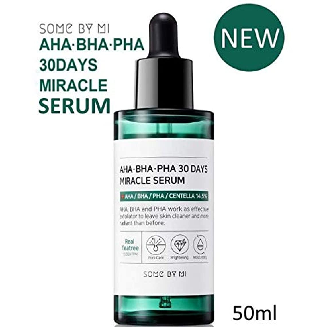 造船有限協力的[Somebymi] AHA BHA PHA 30Days Miracle Serum 50ml/Korea Cosmetic [並行輸入品]
