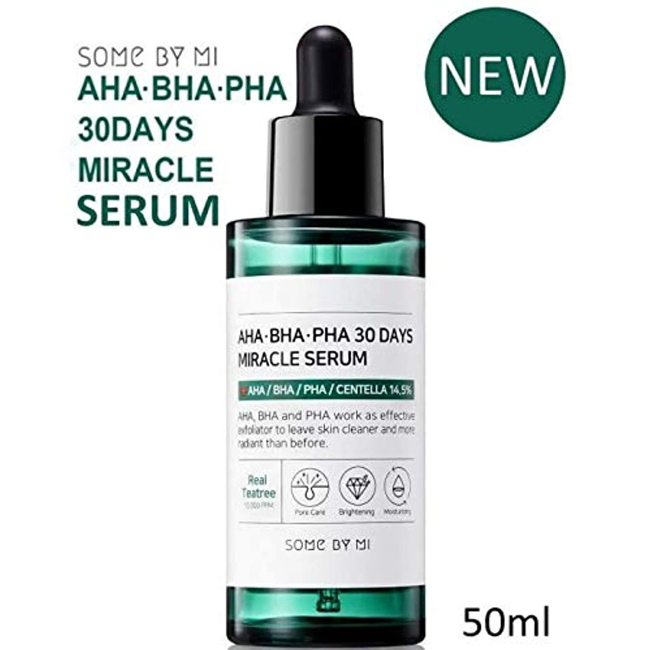 シャワーショッキング伝記[Somebymi] AHA BHA PHA 30Days Miracle Serum 50ml/Korea Cosmetic