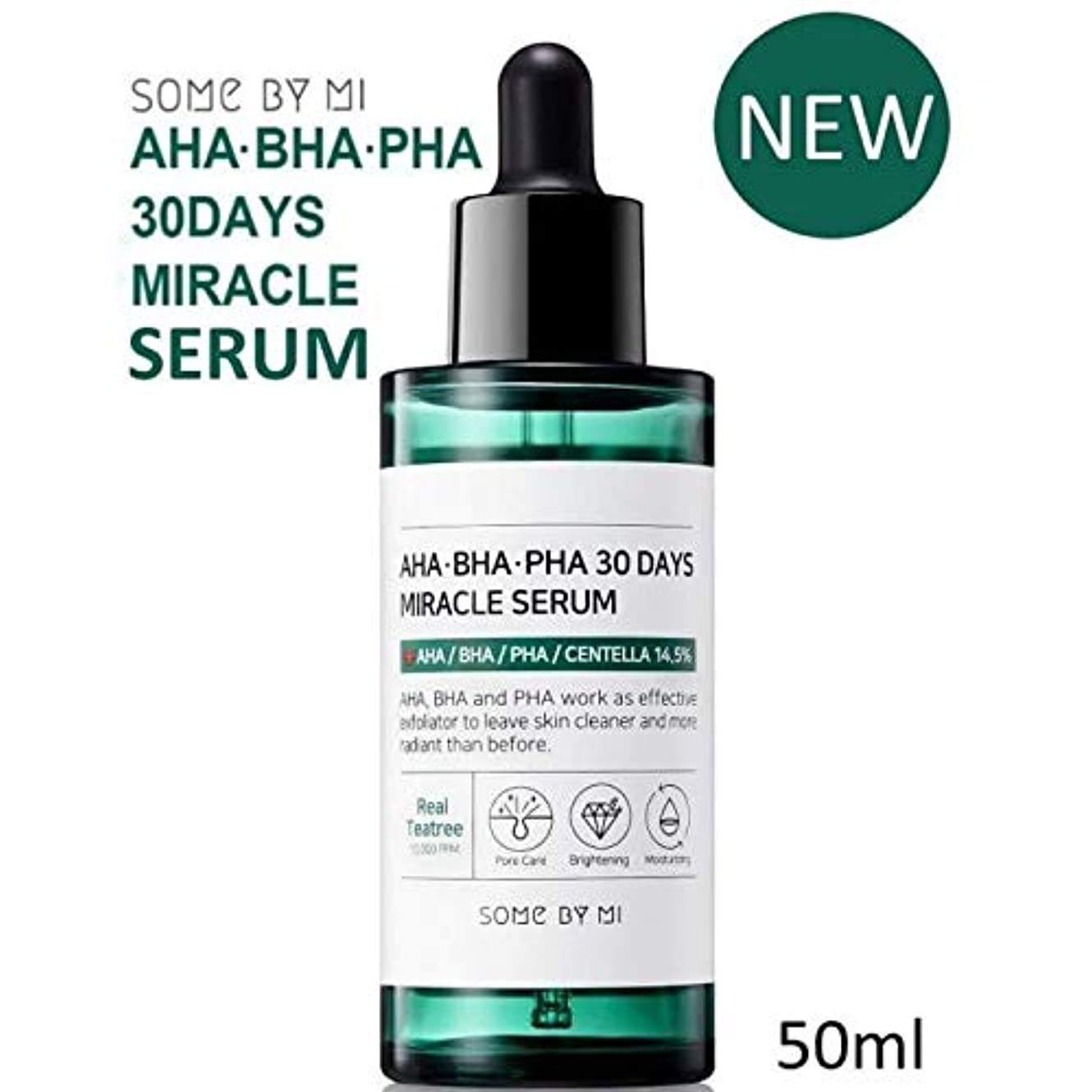 ダンスバンドル免疫[Somebymi] AHA BHA PHA 30Days Miracle Serum 50ml/Korea Cosmetic [並行輸入品]
