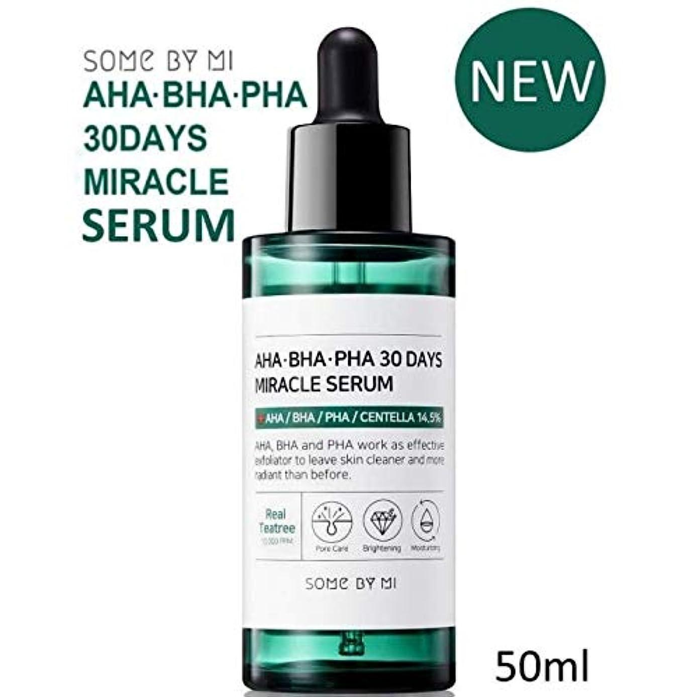 交流する傷つきやすい勇気のある[Somebymi] AHA BHA PHA 30Days Miracle Serum 50ml/Korea Cosmetic