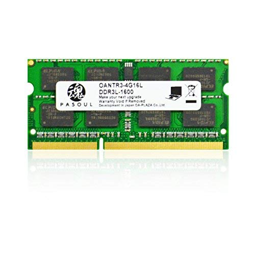Pasoul PC用 メモリ DDR3L-1600  B07DJ5F9PT 1枚目