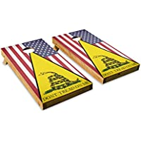 Dont Tread On Me America – Cornholeクルー – ACA Regulation Size Cornholeボードセット