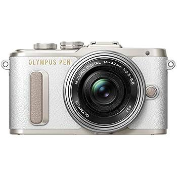 OLYMPUS ミラーレス一眼 E-PL8 レンズキット ホワイト