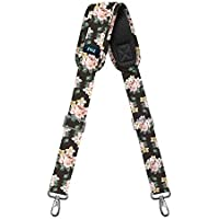 """Shoulder Strap, ZINZ 57"""" Padded Adjustable Shoulder Bag Straps for Bags with D-Ring (Dark Rose, 145cm)"""