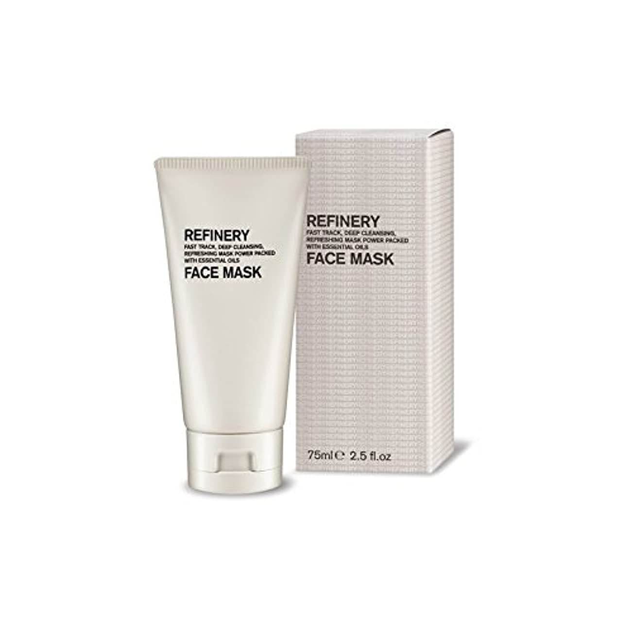The Refinery Face Mask 75ml (Pack of 6) - 製油所のフェイスマスク75ミリリットル x6 [並行輸入品]