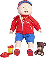 Caillou Best Friend Trilingual Talking Doll English/French/Spanish 15 [並行輸入品]