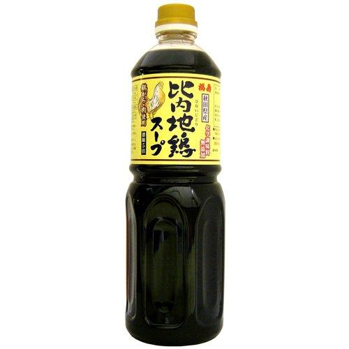 福寿 化学調味料無添加 比内地鶏スープ 1L