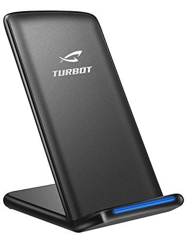 Qiワイヤレス充電器 ElleSye ワイヤレスチャージャー スタンド型 3つのコイル iPhone8 / iPhone8 Plus / iPhone X , Galaxy Note 8 /S8/S8 Plus/S7/S7 Edge/Note 5/S6 Edge Plus,Nexus 4 /5/6/7(2013),Nokia,HTC,LGその他QI対応機種