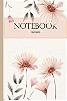 Composition Notebook: Flowers Floral College Ruled Blank Lined Cute Notebooks for Girls Teens Kids School Writing Notes Journal (6 x 9 in) (Composition Notebooks)