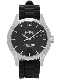 コーチ 時計 COACH 14502524 MADDY マディ シグネチャー レディース腕時計ウォッチ シルバー/ブラック [並行輸入品]