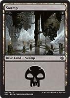 英語版 デュエルデッキ アンソロジー Duel Decks: Anthology DDA 沼 Swamp (#61) (Garruk vs. Liliana) マジック・ザ・ギャザリング mtg