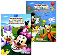 Mickey Mouse Clubhouse Jumbo 96-Page Colouring & Activity Book: 6PK Assortment