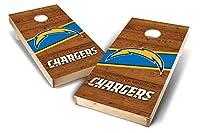Proline NFL 2' x4' Cornholeボードセット–ロゴデザイン ブルー