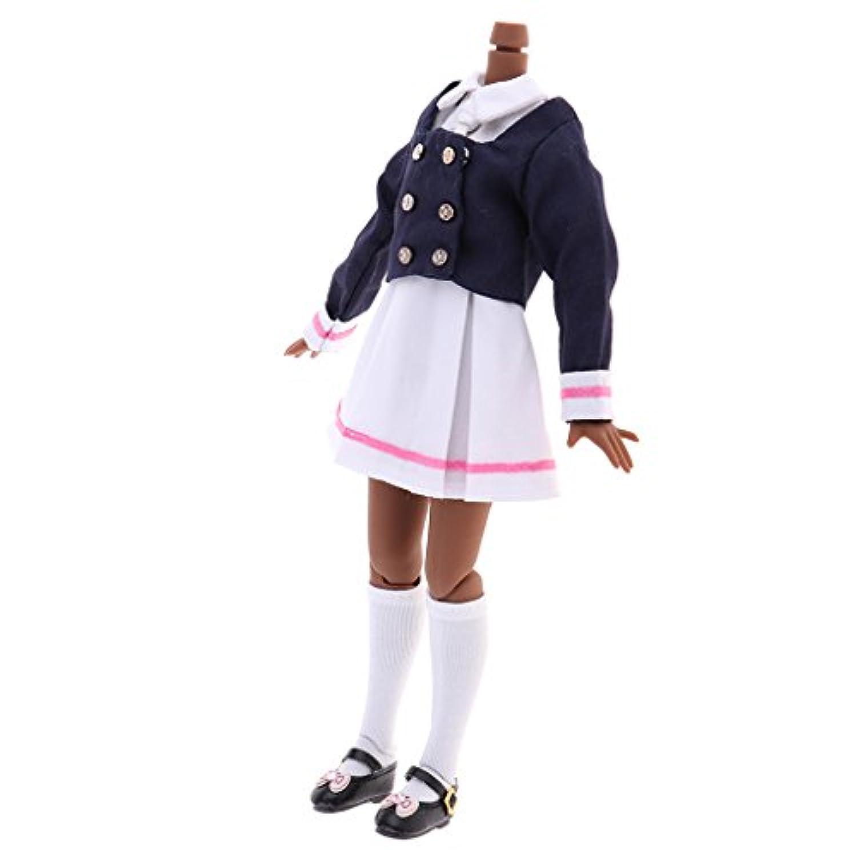 Baosity 12インチRBL ネオブライス タカラ ブライスドールのため ヌードボディ 制服スーツ