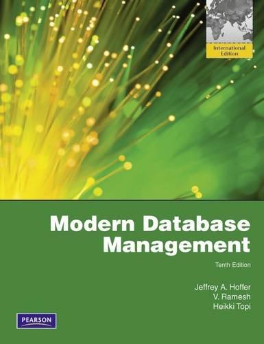 Download Modern Database Management 1408264315