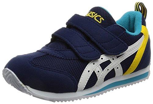 [アシックス] 運動靴 アイダホ MINI 3 TUM186 ネイビーブルー/ホワイト 18 cm