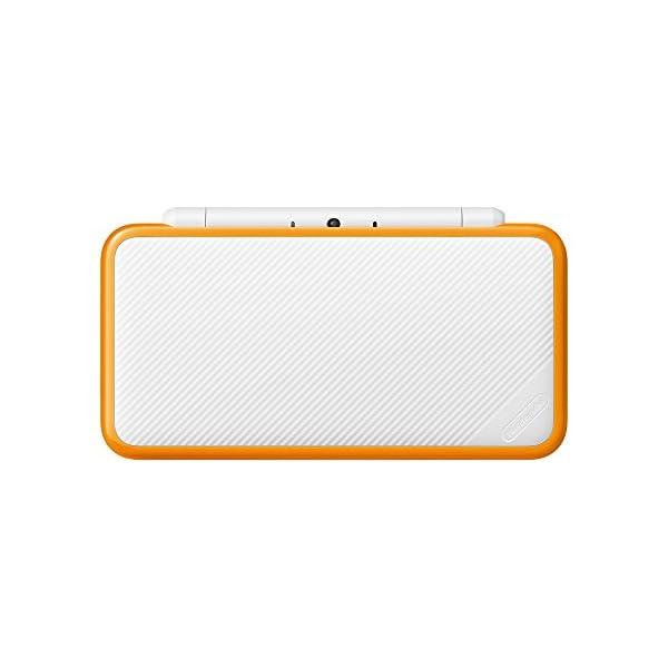 Newニンテンドー2DS LL ホワイト×オレンジの紹介画像4