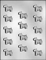 CK チョコレート型/スコティッシュテリア犬