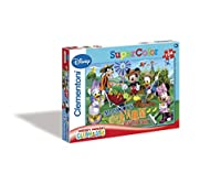 (Mickey Mouse 1) - Disney Junior Clementoni Mickey Mouse Puzzle (104-Piece, Multi-Colour)