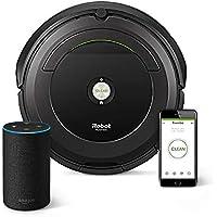 アイロボット ロボット掃除機 ルンバ691【国内仕様正規品】 R691060 +Amazon Echo (Newモデル)、チャコール (ファブリック)