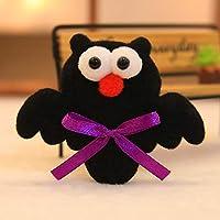 ハロウィン パンプキン フクロウ ゴーストライトアップ パーティーの景品 グロー おもちゃ LEDブローチ free OVERMAL Toy b449