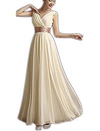 4c1faf2b4d15f Amazon.co.jp  ゴールド - ワンピース・ドレス   レディース  服 ...