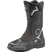 ジョーロケット (Joe Rocket) 頑丈なツーリング用メンズシューズ スポーツ オートバイレース オートバイ用ブーツ 黒  13 ブラック 1377-0013-SU