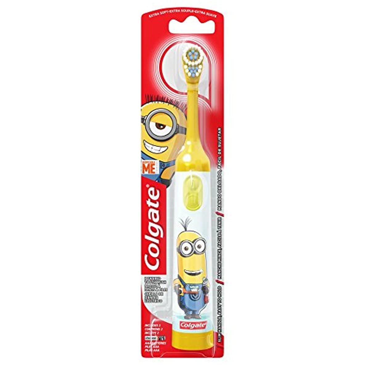 損傷ワット軽減Colgate Kids Minions Power Toothbrush Assorted Colors 141[並行輸入]