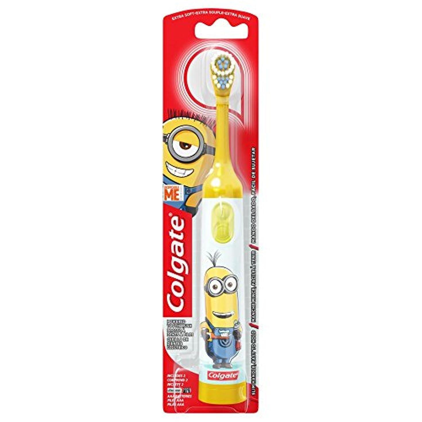 信者いじめっ子専制Colgate Kids Minions Power Toothbrush Assorted Colors 141[並行輸入]