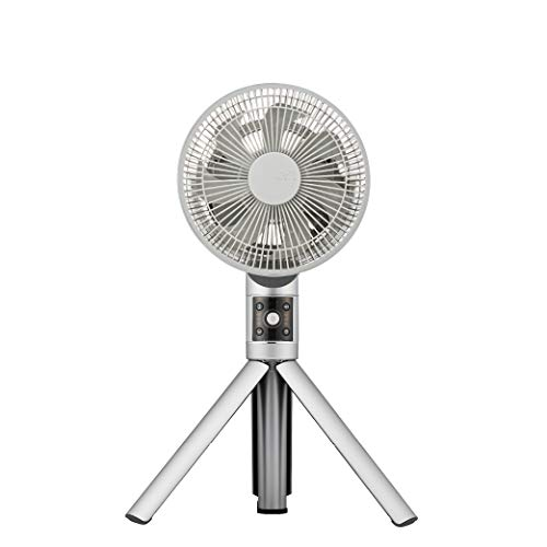 カモメファン 扇風機 リビングファン 20cm 首振り リモコン付き シルバー FKLU-201D SI