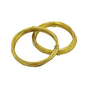 ノナカ リードワイヤー 輪 直径:0.7mm 全長:約9.5m×2本