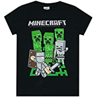 Minecraft Adventure Logo Boy's T-Shirt