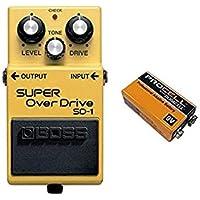 【9V電池DURACELL PROCELL 006P付】BOSS/ボス SD-1/SUPER OverDrive スーパー・オーバードライブ