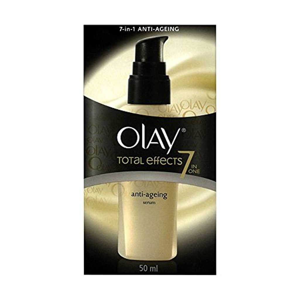 溶融ディスク感謝するOlay Total Effects Anti-Ageing Smoothing Serum 50 ML (Ship From India) [並行輸入品]
