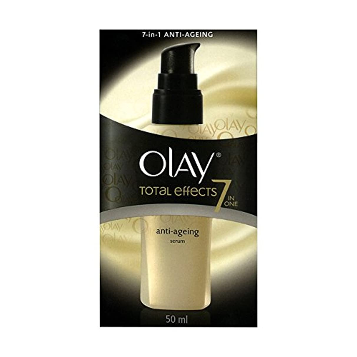 羊セラー勘違いするOlay Total Effects Anti-Ageing Smoothing Serum 50 ML (Ship From India) [並行輸入品]