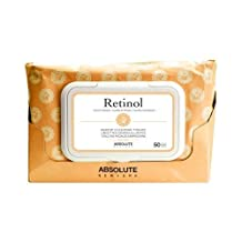 Absolute New York Retinol Cleansing Tissues, 50 count