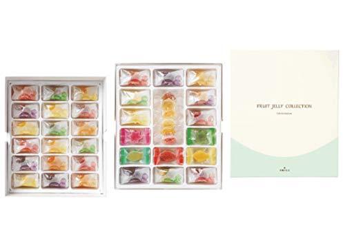 彩果の宝石 フルーツゼリーコレクション (100個入り) 国産もち米あられ1個セット