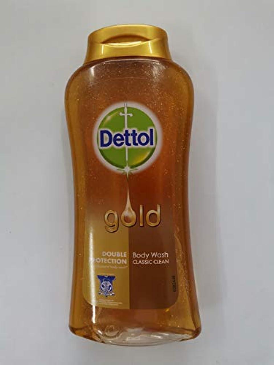 いとこバリアにDettol クラシッククリーンボディローション250ミリリットル - 細菌非食用風呂-kills 99.9% - 毎日の細菌を防ぎます