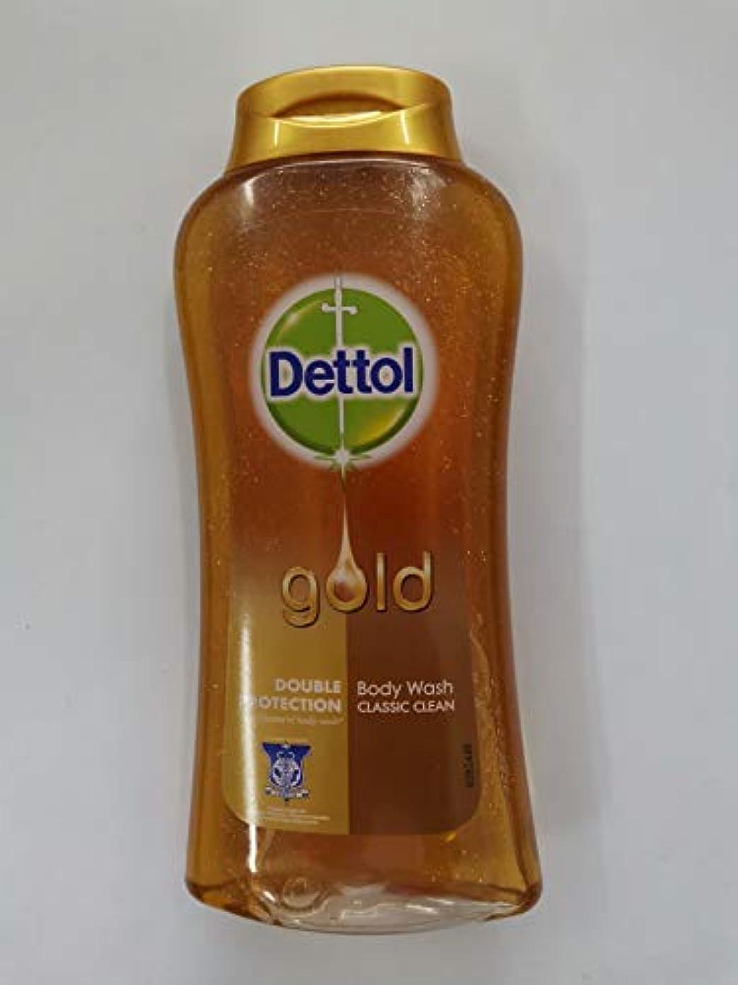 蛇行テレビルーキーDettol クラシッククリーンボディローション250ミリリットル - 細菌非食用風呂-kills 99.9% - 毎日の細菌を防ぎます