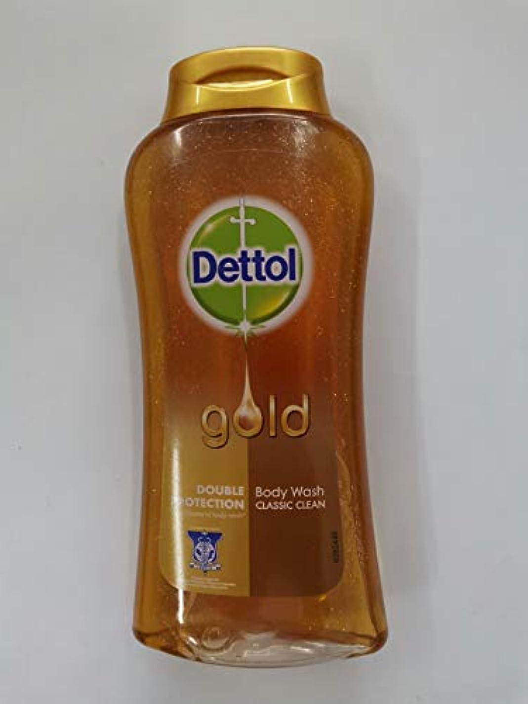 不可能な置き場お互いDettol クラシッククリーンボディローション250ミリリットル - 細菌非食用風呂-kills 99.9% - 毎日の細菌を防ぎます