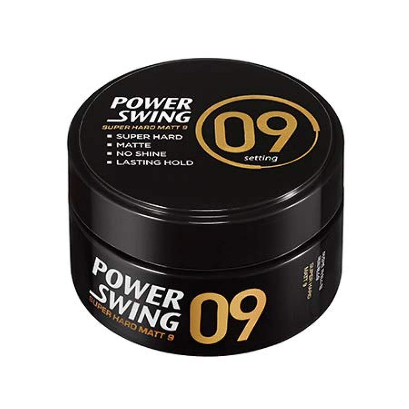 断片何故なの部屋を掃除する[ミジャンセン.miseenscene]パワースイングマットワックス9(80g)/ power swing matte wax