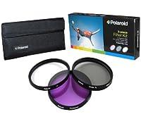 Polaroid Optics 86mm 3 Piece Filter Set (UV, CPL, FLD) [並行輸入品]